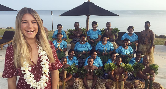 Australian Breakfast Show Films Live From Fiji This Week