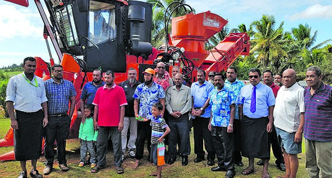 New Cane Harvester Commissioned In Seaqaqa