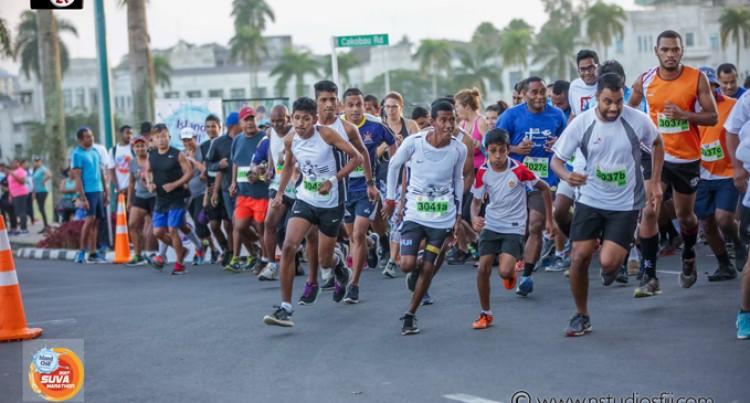 1600  Runners For Suva Marathon