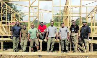 Engineers Start Work On Teachers' Quarters
