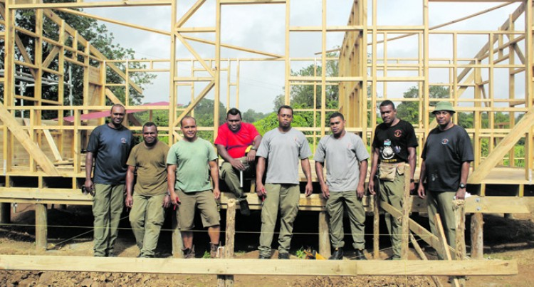 Engineers Start Work On Teachers' Quarters