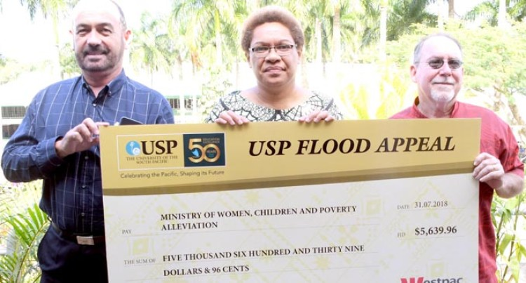 USP Campus Life Praised For Flood Help