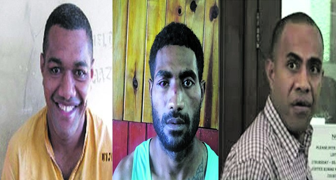 Police Hunt For Three Escapees
