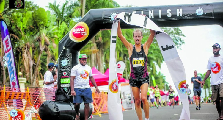 Island Chill Marathon Defending Champion Hopes to Represent Fiji