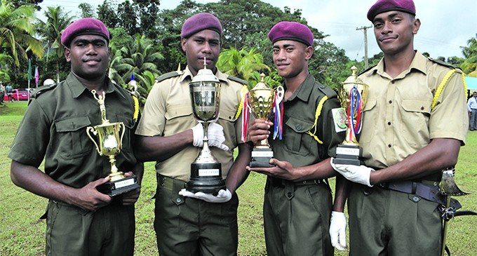 Award Winning Cadets Proud Of Their Achievements