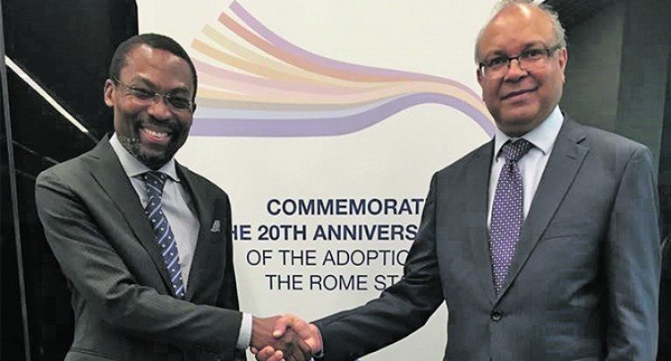 International Criminal Court Commends  Fiji's Leadership  Position In  The Region