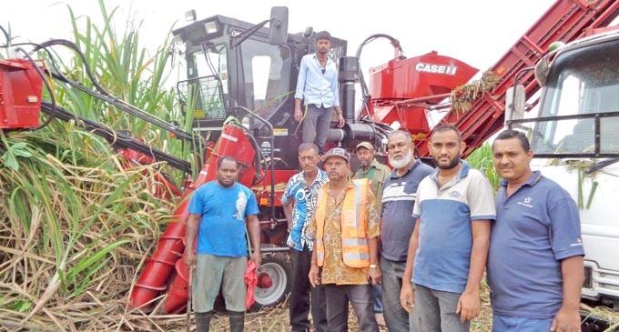 Harvester Boosts Saweni Farmers