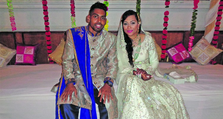 Love In The Air At Roy Krishna, Naziah Ali's Mehndi Ceremony