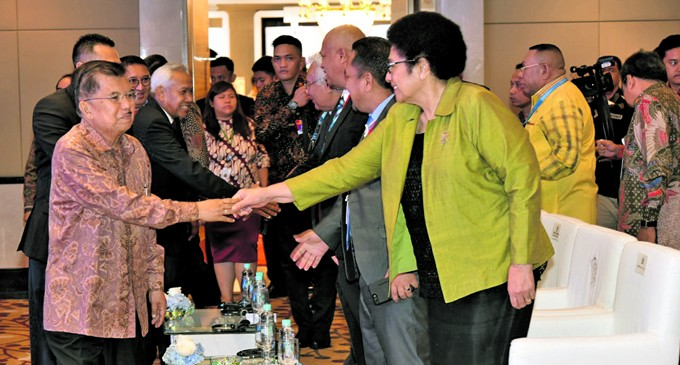 Fijian Delegation For Indonesia Meeting