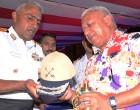 Fiji Celebrates Indian Day On board INS Sahyadri