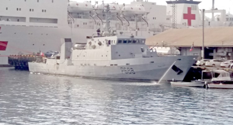 French Navy Vessel La Moqueuse Makes Fifth Call