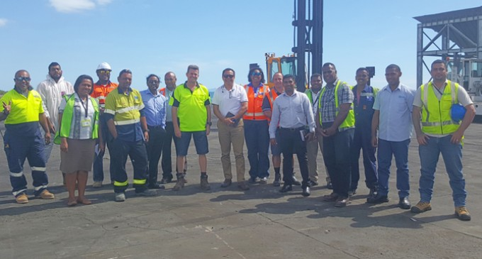 Lautoka Port Works Towards Sea Container Hygiene System