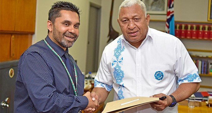 PM Receives Cheques From ATS And FBC
