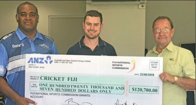 Timely Assist For Cricket Fiji