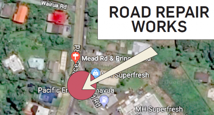 Mead Road and Princes Road works