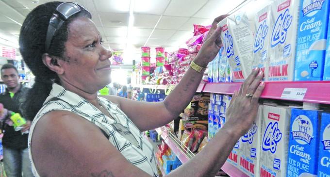 Liku Enjoys Shopping Healthy