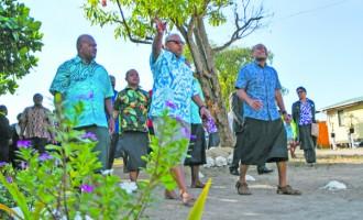 Historic Visit By PM Bainimarama To Vio Island