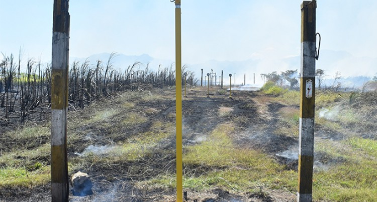 Fires Spread to Fiji Airports Facilities Can Disrupt Flights