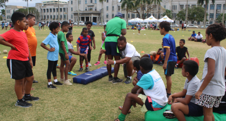 Rugby League Clinic For Children