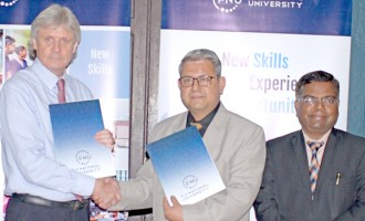 MoU Signed for a New Centre of Excellence in IT