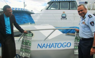 Refurbished Boat To Assist Police