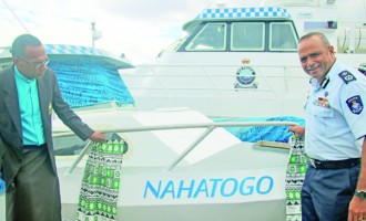 Police boat given new look, new name