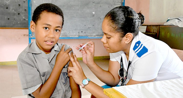 More Than 110,000 Children Vaccinated