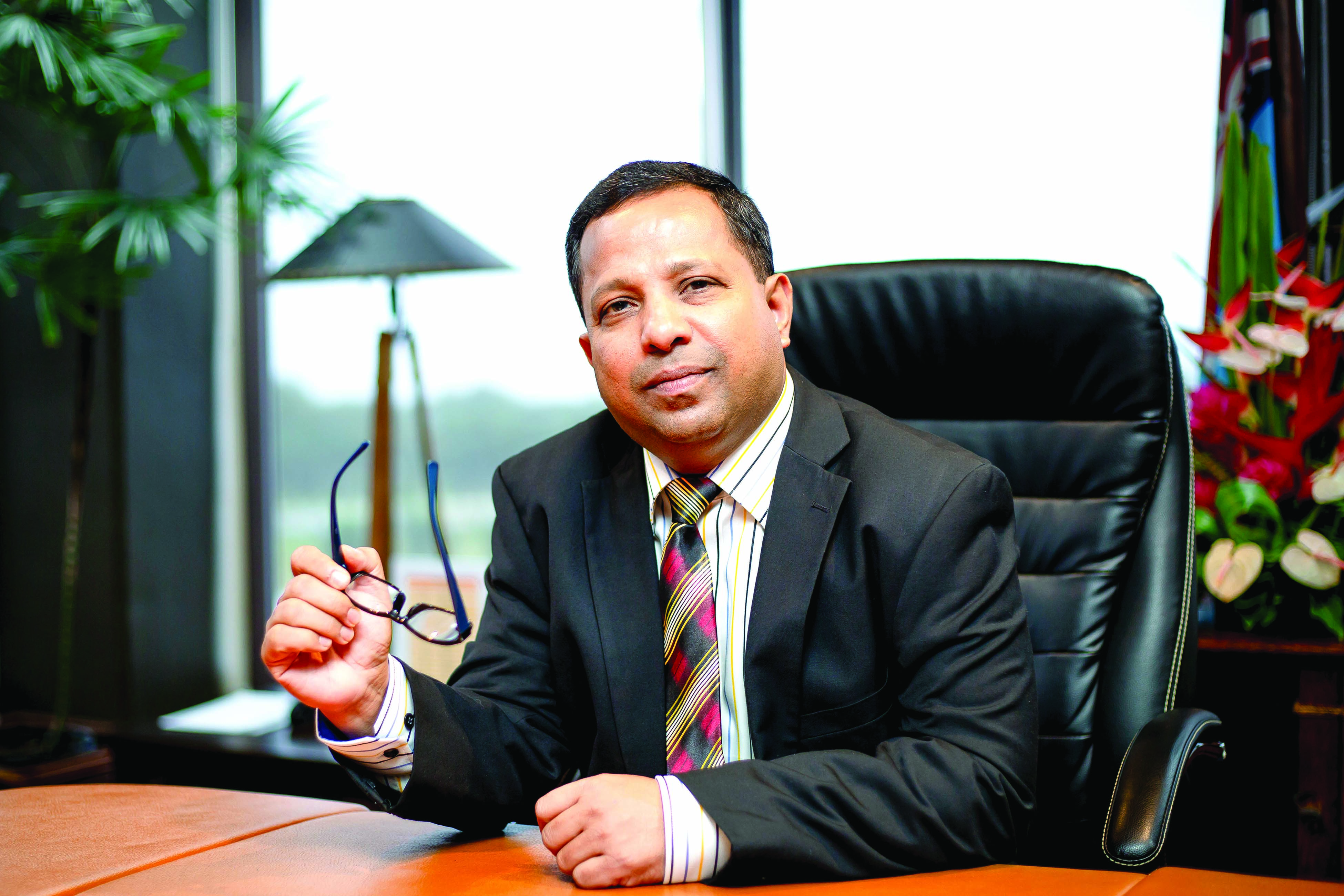 Fijian Holdings Limited chief executive officer Nouzab Fareed