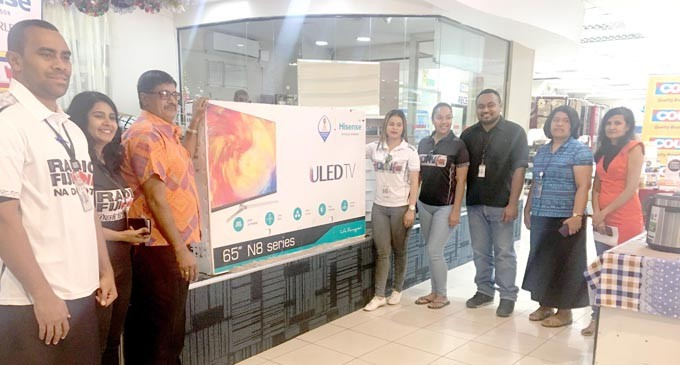 Winners Tell Of Excitement After Winning Hisense 65-Inch TV