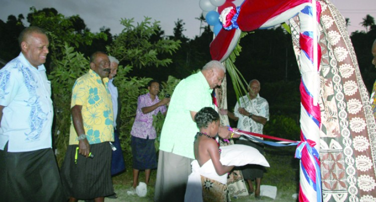 Relocation Pleases Nauouo Villagers