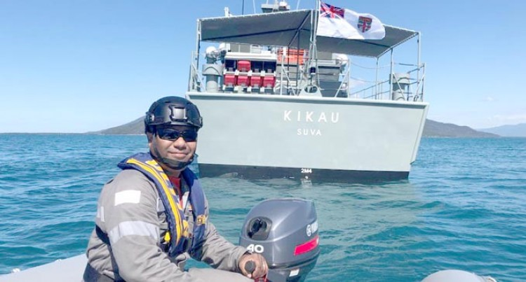 Kikau Represents Fiji In The KAKADU Exercise