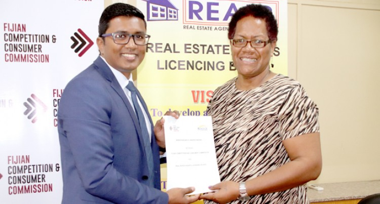 FCCC Signs MOU  With REALB