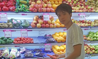 Fitness Trainer Particular with Calories When Shopping