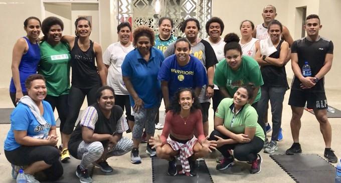 Adelene Hopes To Keep Fijians Healthy