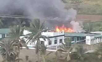 Fire Partially Damage Vunimoli Mosque, Labasa