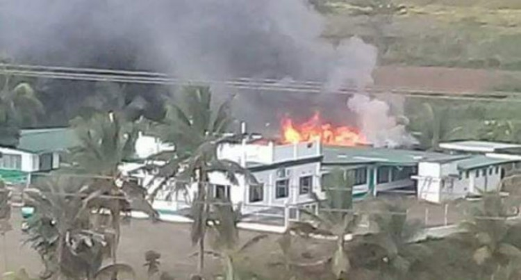 Fire Partially Damage Vunimoli Mosque, Labasa