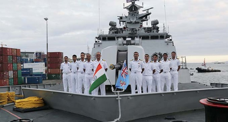 Skipper Eyes Fruitful Talks With Fiji Navy