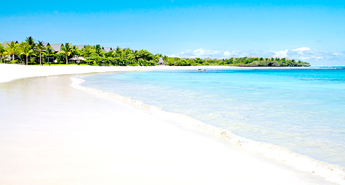 InterContinental Fiji Golf Resort & Spa is at Natadola Bay.