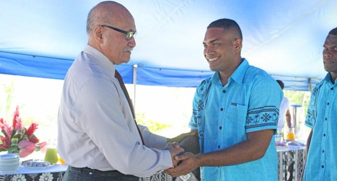 President Blesses U20 Reps