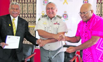 Two Provinces Sign Rehab MOU