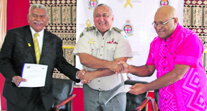 Two Provinces Sign Rehab MOU