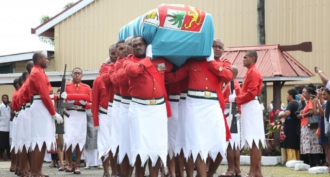 Big Turnout At Major Tadu Funeral