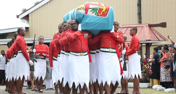 Big Turnout At Major Tadu Funeral