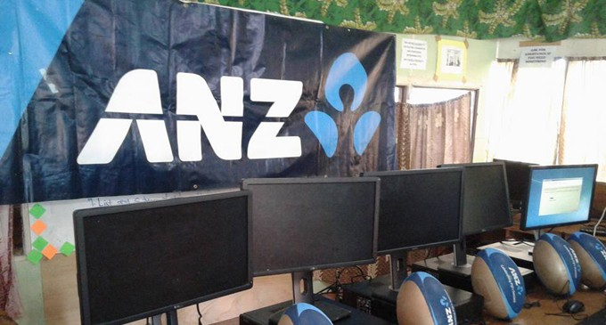 College Grateful For ANZ Donation