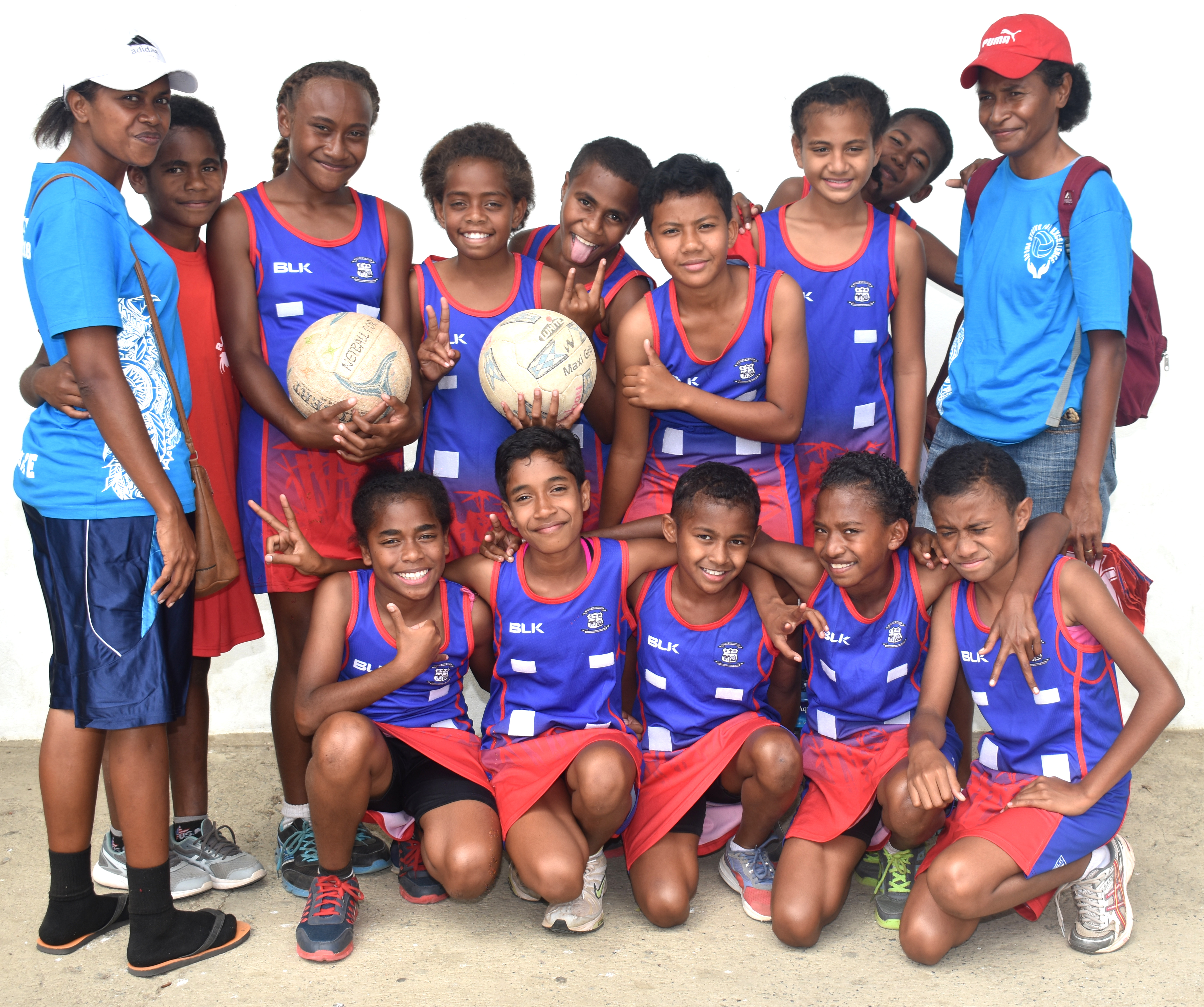 Ra Under-9 team at Lawaqa Park, Sigatoka on August 16,2018.  Photo: Arieta Vakasukawaqa