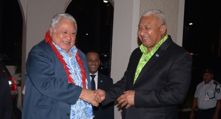 Fiji, Samoa PMs Meet