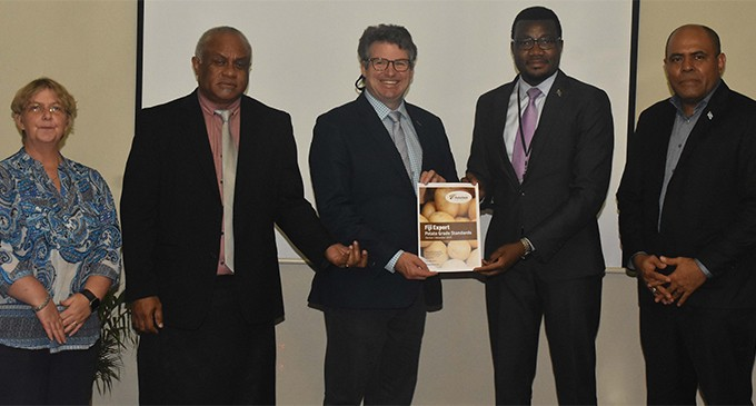 NZ Potato Body To Ensure Quality Products Enter Fiji