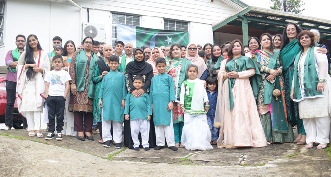 Members of the Pakistani community celebrating their independence day on August 26, 2018. Photo: Simione Haravanua