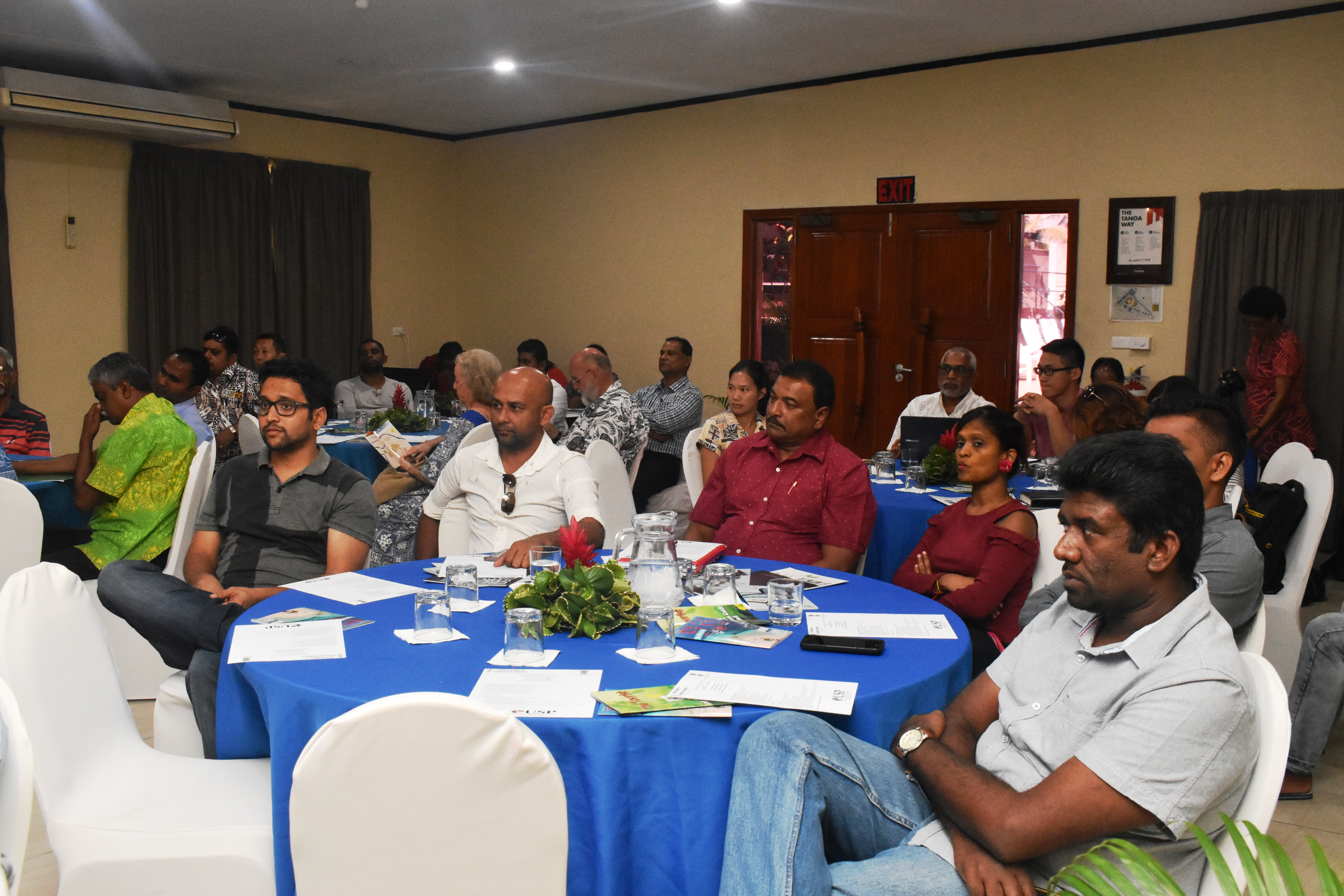 Participants and members of the Nadi Chambers of Commmerce and Industry during the business forum in Nadi which also included officials from the Indian High Commission in Fiji on August 4,2018. Photo: Peni Komaisavai