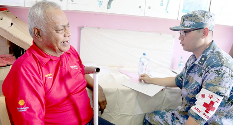 Locals Take Advantage Of Medical Services
